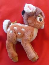 Vintage Gund BAMBI Plush Toy Disney Stuffed Animal Deer With Butterfly P... - $7.91
