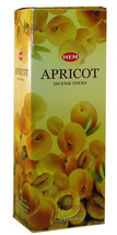 Hem Bulk Incense Apricot 120 sticks Free shipping  - $7.66