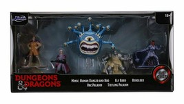 NEW SEALED 2020 Jada Toys Dungeons and Dragons Diecast Metal Figure Set ... - $29.69