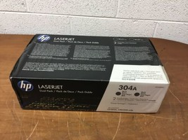 OEM HP LaserJet 304A Dual-pack Black Toner Cartridge CC530AD - $221.52