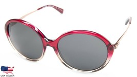 New Coach HC8214 L1650 547387 Red Sand Grad /GREY Lens Sunglasses 56-16-140 B53 - $54.43