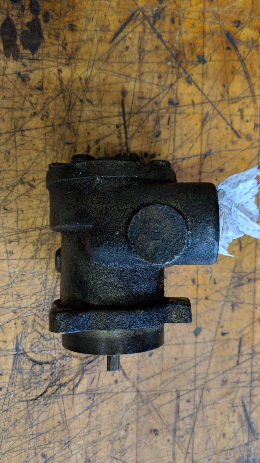 "Tuthill 1LEA tang drive hydraulic lube oil rotary gear Pump 1/2"" Ports"