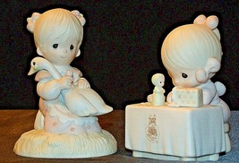 1980/1989 Precious Figurines Moments  AA-191841  Vintage Collectible image 2