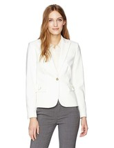 Calvin Klein Women's Center Zip Jacket with Hardware - $143.04+
