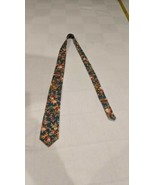 "Barry Beaux ""knot it up"" Mens Floral Skinny Tie 100% cotton - $10.79"