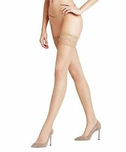 Falke POWDER Invisible Deluxe 8 Thigh Highs, US 9.5-10 - $22.77