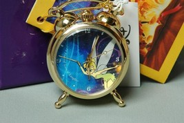 1998 Disney's 75th Anniversary Tinker Bell Desktop Clock Hand-wound Desk... - $292.05