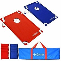 CornHole Game Set: 8 Bean Bags Carrying Case PVC Framed - $100.30