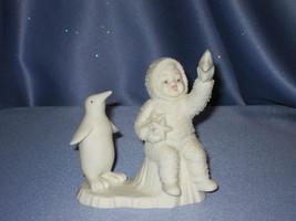 "Snowbabies ""Wishing on a Star"" Figurine W/Box. - $24.00"