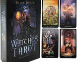 Witches Tarot: A 78 Tarot Cards Deck English Language Divination Oracle Card