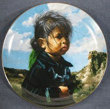 Navajo Little One The Proud Nation Collector Plate Ray Swanson with COA - $37.95