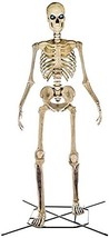 Home Accents 12 ft. Giant-Sized Skeleton with LifeEyes image 2