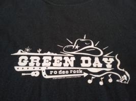 2003 Medium Green Day Rodeo Rock T-Shirt - $14.95