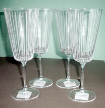 Kate Spade Marlborough Street Set of 4 Iced Beverage Glasses Lenox Crystal NEW - $68.90