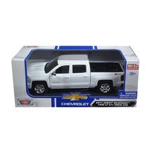 2017 Chevrolet Silverado 1500 LT Z71 Crew Cab White 1/24 Diecast Model C... - $34.69