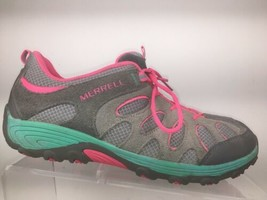 Merrell Womens Sneakers Size 6 Pink Gray Performance Running Shoe - $40.00