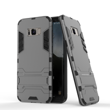 Defender Protective Case Cover with Kickstand for Samsung Galaxy S8 - Gray  - $4.99