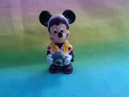 Disney Applause Tourist Minnie Mouse w/ Camera PVC Figure or Cake Topper - $2.95