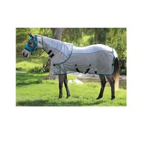 ComfortFit Fly Sheet For Horses Protection Breathable Gray/Pacific 72 In... - $168.15