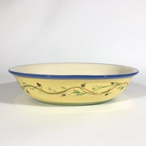 Pfaltzgraff The Secrets of Pistoulet Oval Serving Bowl Vegetable Dish Gr... - $18.76