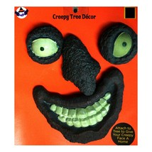 DG* 4pc Set CREEPY TREE DECOR Yard Decoration FACE Eyes+Nose+Mouth HALLO... - €13,01 EUR