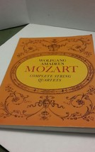 Wolfgang Amadeus Mozart Complete String Quartets Dover Chamber Music Mus... - $18.37