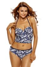 e5d75de70e Cali Chic Juniors' Swimsuit Celebrity Lace Up Tankini Swimsuit - $16.99