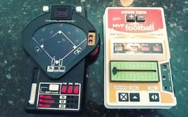 Vintage 1978 TOMY Digital Diamond Baseball & Galoob MVP Football Games D... - $18.81