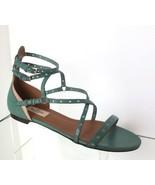 NEW VALENTINO Garavani Love Latch Strappy Grommet Sandals (Size 38) - $499.95