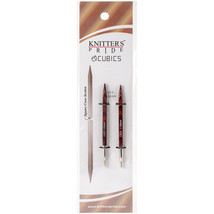 Knitter's Pride-Cubics Special Interchangeable Needles-Size 8/5mm - $11.31