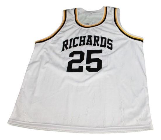 Dwyane wade  25 richards high school new men basketball jersey white   1