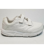 Brooks Addiction Walker Men's Walking Shoes Size 10.5  4E White Leather - $79.19
