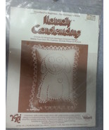 "Naturally Candlewicking Candlewick Puppy Love 1983 # 96 Quilting 5"" x 7""... - $29.65"