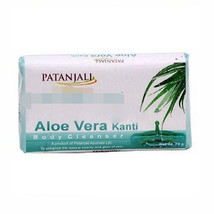 Patanjali Aloe Vera Kanti Body Cleanser Soap 75 gm pack  - $5.09