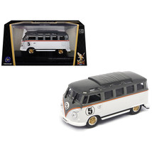 1962 Volkswagen Microbus #5 Van Bus White 1/43 Diecast Model by Road Sig... - $24.39