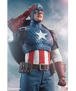 "Sideshow Marvel Comics Captain America Steve Rogers 1/6 Scale 12"" Action... - $245.77"