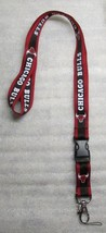 NBA Chicage Bulls Disconnect Disconnecting LANYARD KEY CHAIN Ring Keycha... - $14.99