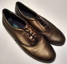 Easy Spirit Anti-Gravity Metallic Brown Dark Bronze Casual Oxfords Size 8 N - $30.24 CAD