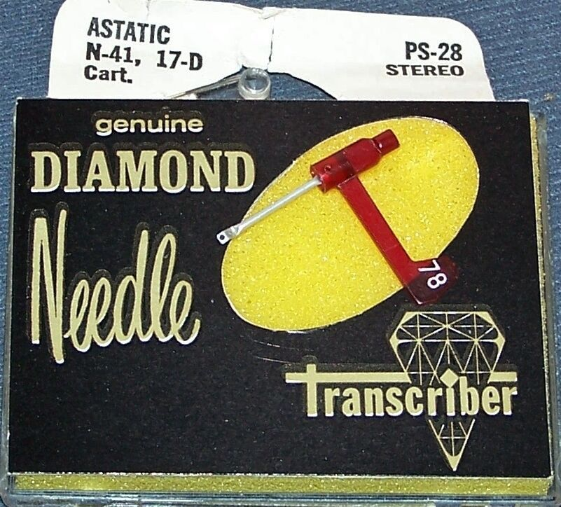 159-DS73 PS-28 RECORD PLAYER STEREO NEEDLE for Astatic 17 17d 135 217D 78 RPM