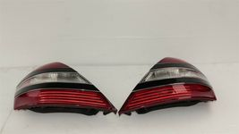 07-09 Mercedes 221 S550 S600 Tailight Tail Light Lamps Set L&R image 4