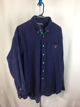 Ralph Lauren Polo Golf Size L Button Up Long Sleeves Purple Corduroy Tilden - $24.99