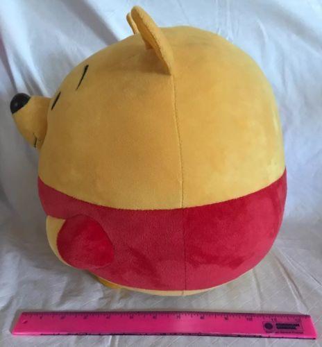 "a946fc0ca80 Ty Winnie the Pooh Beanie Ballz 13"" Large Plush Disney Bear Stuffed Animal  Ball"