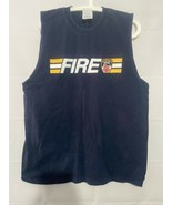 FDNY Tank Top Fire Department NYC NY XLarge Keep Back 200 Feet - $12.86