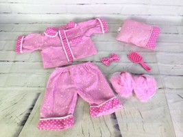 "2005 Cabbage Patch Kids Sleepover Party Pink Outfit Fashion Set for 16"" CPK Doll - $27.71"