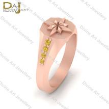 0.15tcw Yellow Diamond Engagement Ring Captain Marvel Symbol Inspired Ri... - €88,72 EUR