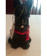 Scottish Terrier Glass Christmas Ornament Scottie Raz Imports Holiday Or... - $9.89