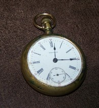 Antique Open Face Waltham Pocket Watch - $49.49
