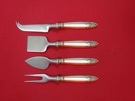 Empress by International Sterling Cheese Serving Set 4 Piece HHWS  Custom - $247.10