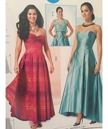 Burda Sewing Pattern 6777 Misses Evening Special Occassion Dress Top Sz ... - $13.97
