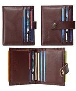 O-LET Credit Card Holder For Women Men RFID Genuine Leather Slim Minima... - $35.18